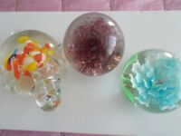 x3 pretty paperweights