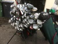 Random irons and woods and 4 bags to clear bargain at £20