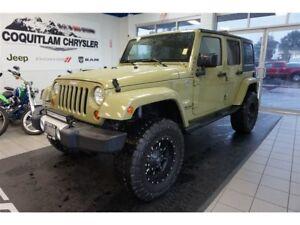 2013 Jeep Wrangler Unlimited Sahara - Lift, Custom Wheels, Manua