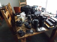vintage cameras job lot