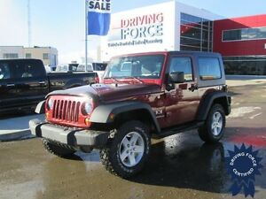 2009 Jeep Wrangler X 4x4 - 60,401 KMs, 5 Passenger SUV, 3.8L Gas