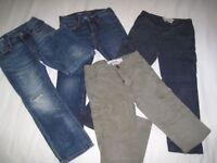 Boys trouser bundle 6-7 years