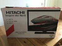 Hitachi 22 inch tv dvd combi led hd freeview
