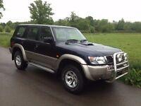 Nissan Patrol Y61 3.0td automatic, leather, Air con.