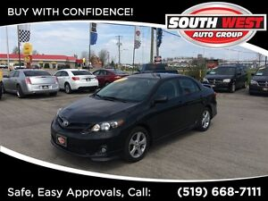 2013 Toyota Corolla S, ROOF, LOADED