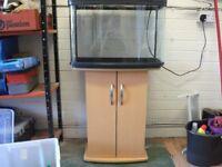 Fish Tank with stingray filter etc.