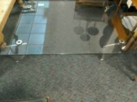 Glass coffee table #30831 £45