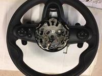 MINI F54 F55 F56 F57 JCW Sport Leather Steering Wheel