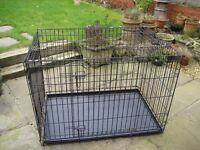 MEDIUM DOG CAGE / CRATE