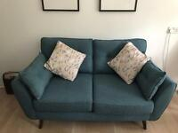 French Connection Zinc 2-seater sofa and arm chair