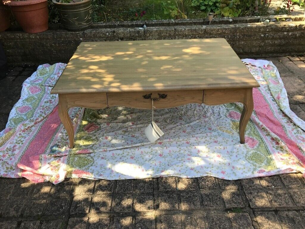Laura Ashley Avignon Solid Oak 2 Draw Coffee Table New In Farnham Surrey Gumtree