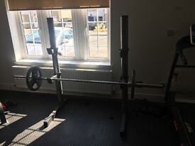 Weights Stand