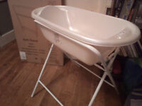 NEW Mothercare unisex Baby Bath with Stand