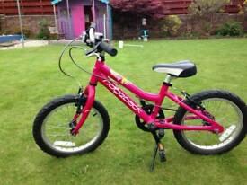 "Ridgeback melody 16"" girls kids bike"