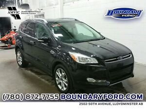 2015 Ford Escape 4WD 4dr Titanium W/ SUNROOF, LEATHER, RMT START
