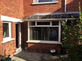 UPVC Double glazed bay window in excellent condition