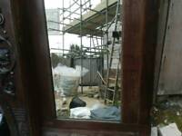 Old Frame Mirror Top Pick Up Only