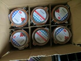 Kilner Style Storage Preserving Jars x 6 New 950ml 2lb
