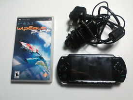 Sony PSP with 1 game and charger