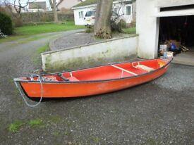 coleman ram-x canoe 15ft very good condition.