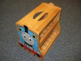 Thomas Tank Engine Wooden Storage Seat Caddy