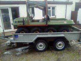 Indespension 10x5 double axle trailer