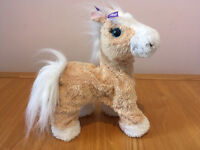 Butterscotch, My Walkin' Toy Pony Pet by Fur Real Friends walks and makes noises (munching/neighing)