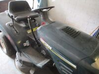 """CRAFTSMAN SIT AND RIDE LAWNMOWER, 6 SPEED 36"""" CUT 14.5ohv IC GOLD, BRIGGS & STRATTON ENGINE"""