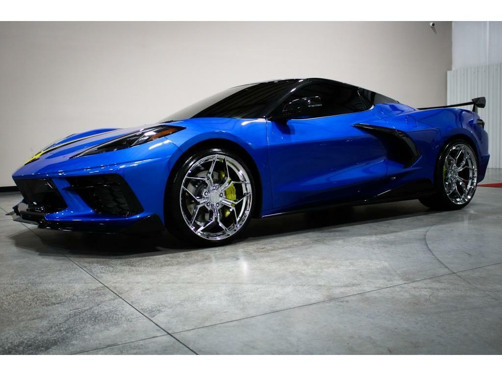 2021 Blue Chevrolet Corvette   | C7 Corvette Photo 8