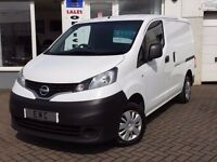 2014 14 Nissan NV200 1.5dCi ( 89bhp ) Acenta~FSH INC T-BELT~ONE FORMER KEEPER~