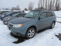 2010 Subaru Forester 2.5 X Touring Package! Sunroof! 56 Km