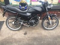 125cc streetfighter ready to want swap