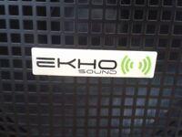 EKHO SOUND speakers x 2
