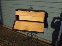 Wooden Carpenters Tool Box