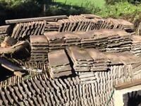 Roof tiles concrete