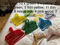 Kids coat hangers