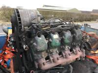 Mercedes v8 non turbo actros axor 814