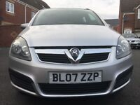Vauxhall Zafira, 7 Seater, 1.6 Manual, 12 Months MOT, HPi Clear, Drives Excellently