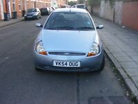 54 plate ford ka ,leather interior,alloys,93k,mot november