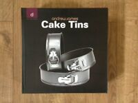 Andrew James Set of 3 Cake Tins with Removable Bases. Brand New.