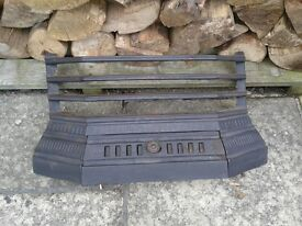 Fire place front