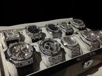 Brand new Audemars Piguet AP hublot Cartier Franck Muller patek phillipe watch diamond automatic ice