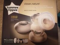 Tommee Tippee Electric Breast Pump & Tommee Tippee Manual Breast Pump, £25