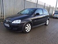 2006│Vauxhall Corsa 1.4 i 16v SXi+ 3dr│3 Former Keepers│1 Year MOT│Half Leather Seats│Hpi Clear