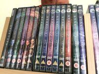 StarGate SG1 seasons 1-7