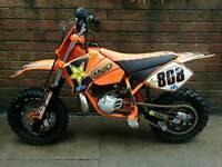 KTM 50 MINI ADVENTURE 2005