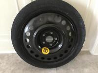 Emergency spare wheel for Vauxhall Mokka. New.