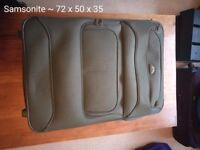 6 travel suitcase for the price of half! Samsonite and others