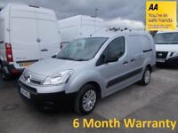 Citreon Berlingo L2 1.6 HDI 90 725KG X Crew Cab STRAIGHT FROM LEASE Co