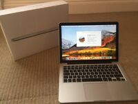 Macbook Pro Early 2015, 13in, retina, Intel i5 2.7ghz, 128gb SSD, 8gb RAM, great condition